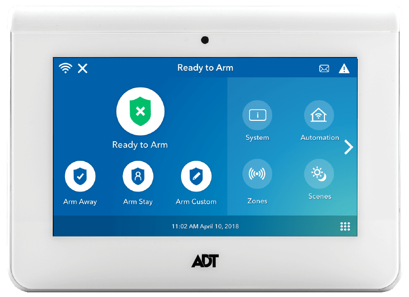 ADT Home Security Command Panel